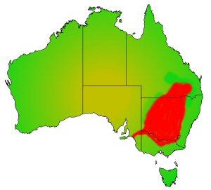 Murray Code distribution area